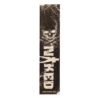 Naked Stuntstep Griptape - Skull Logo