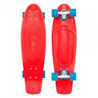 "Penny Nickel Red Blue Skateboard 27"""